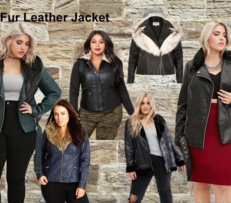 8.fur leather jacket